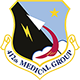 Logo: 412th Medical Group - Edwards Air Force Base